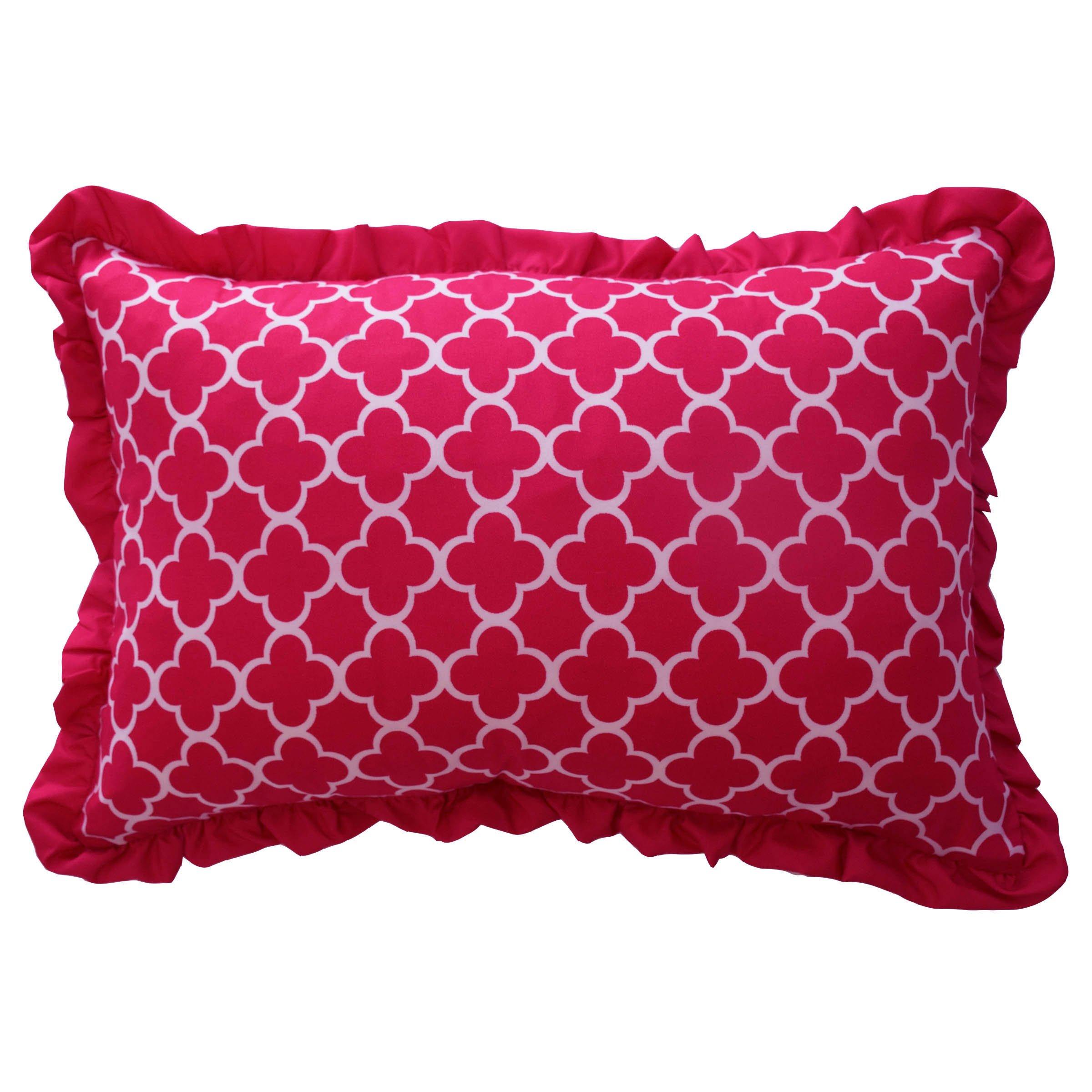 WAVERLY Kids Reverie Decorative Pillow, Pink, 12 x 18