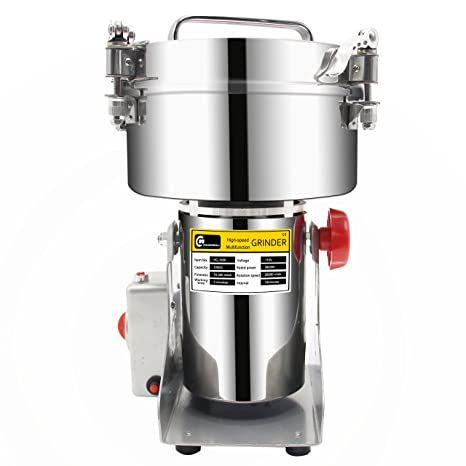 1000g stainless steel electric grain grinder mill for grinding various grains spice Mill Herb Grinder,pulverizer 220v gift fo