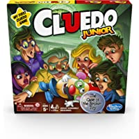 CLUEDO Junior - Classic Mystery Board Game for younger Kids - Case of the Broken Toy - 2-6 Players - Kids Board Games…