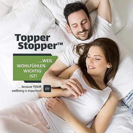 Topper Stopper | 60 x 180 cm: Amazon.es: Hogar
