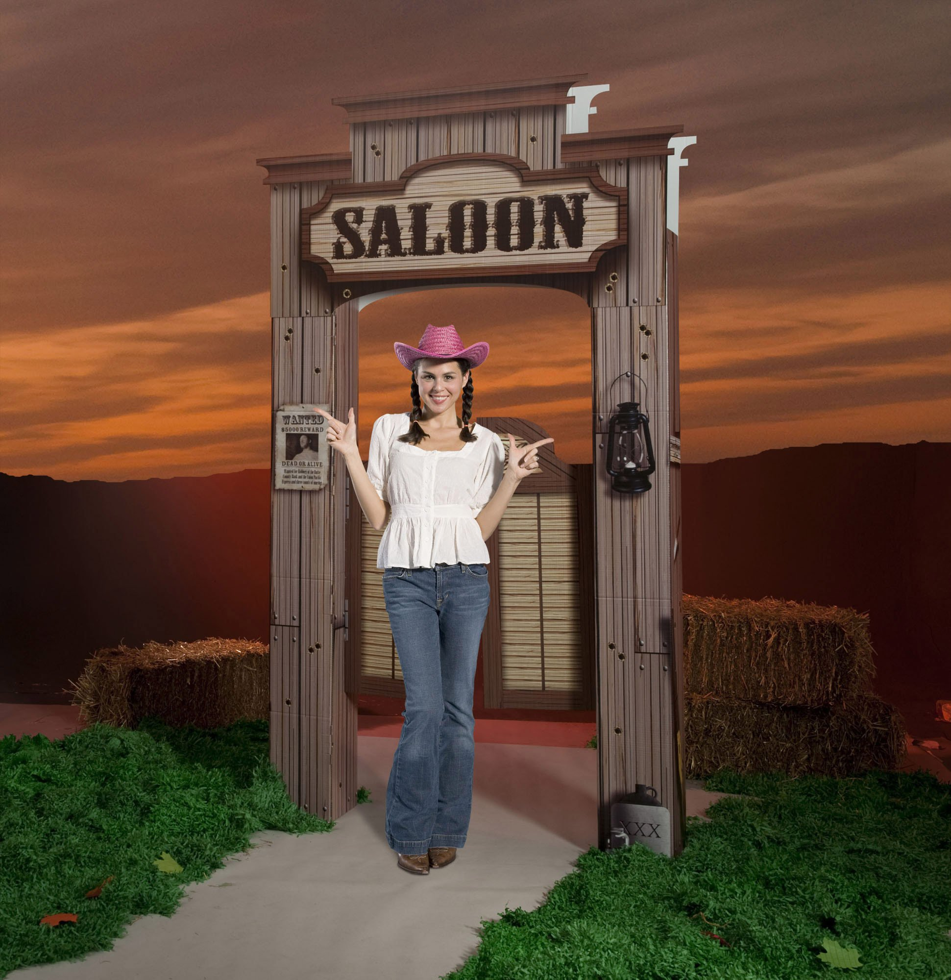 Saloon Entrance Party Prop by Shindigz