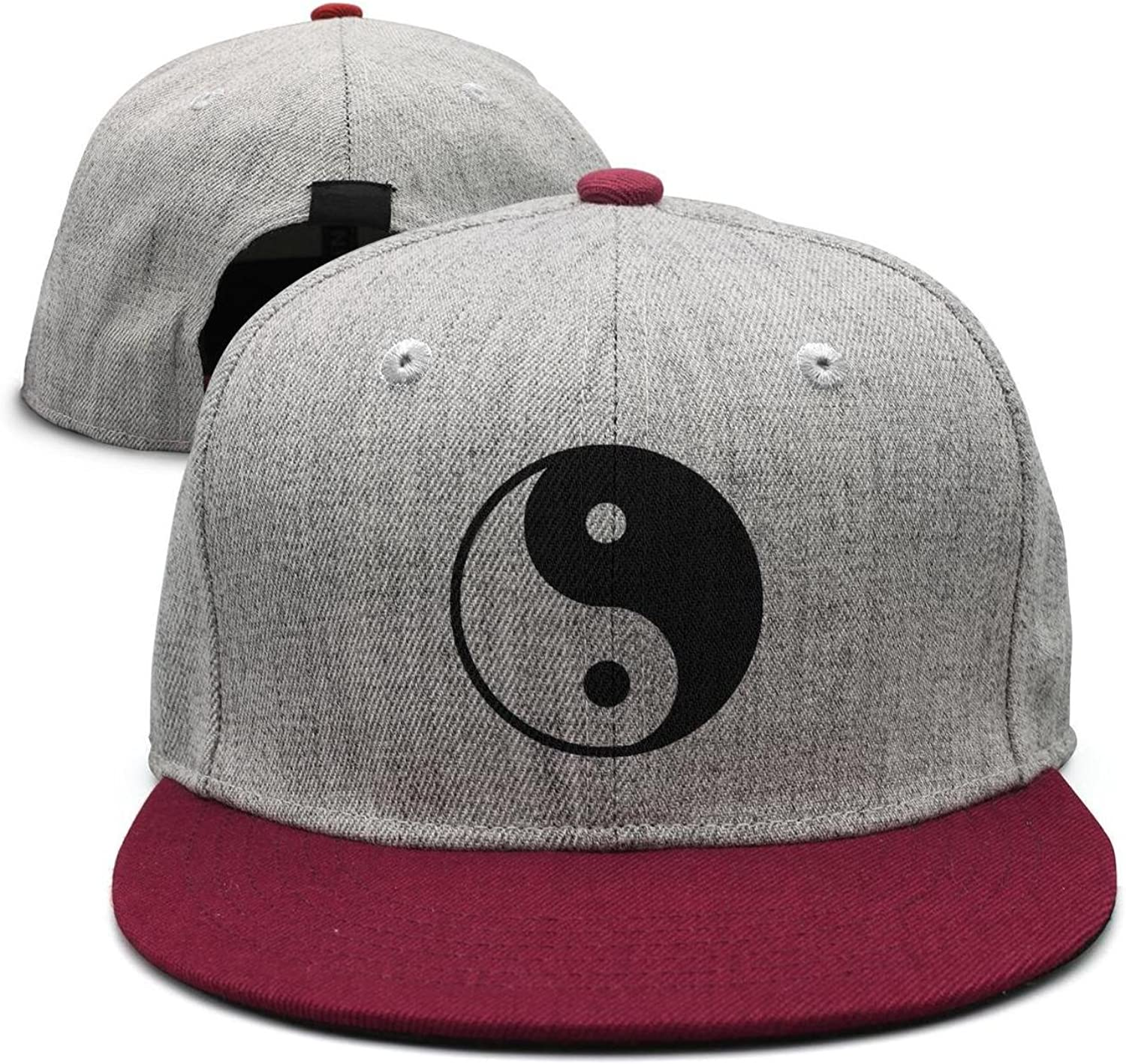 SJSNBZ yin yang Space Graphic Womens Mens Adjustable dad Hat