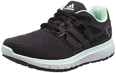 adidas Damen Energy Cloud WTC Laufschuhe, Schwarz (Utility Black/Cloud  Black/Ice