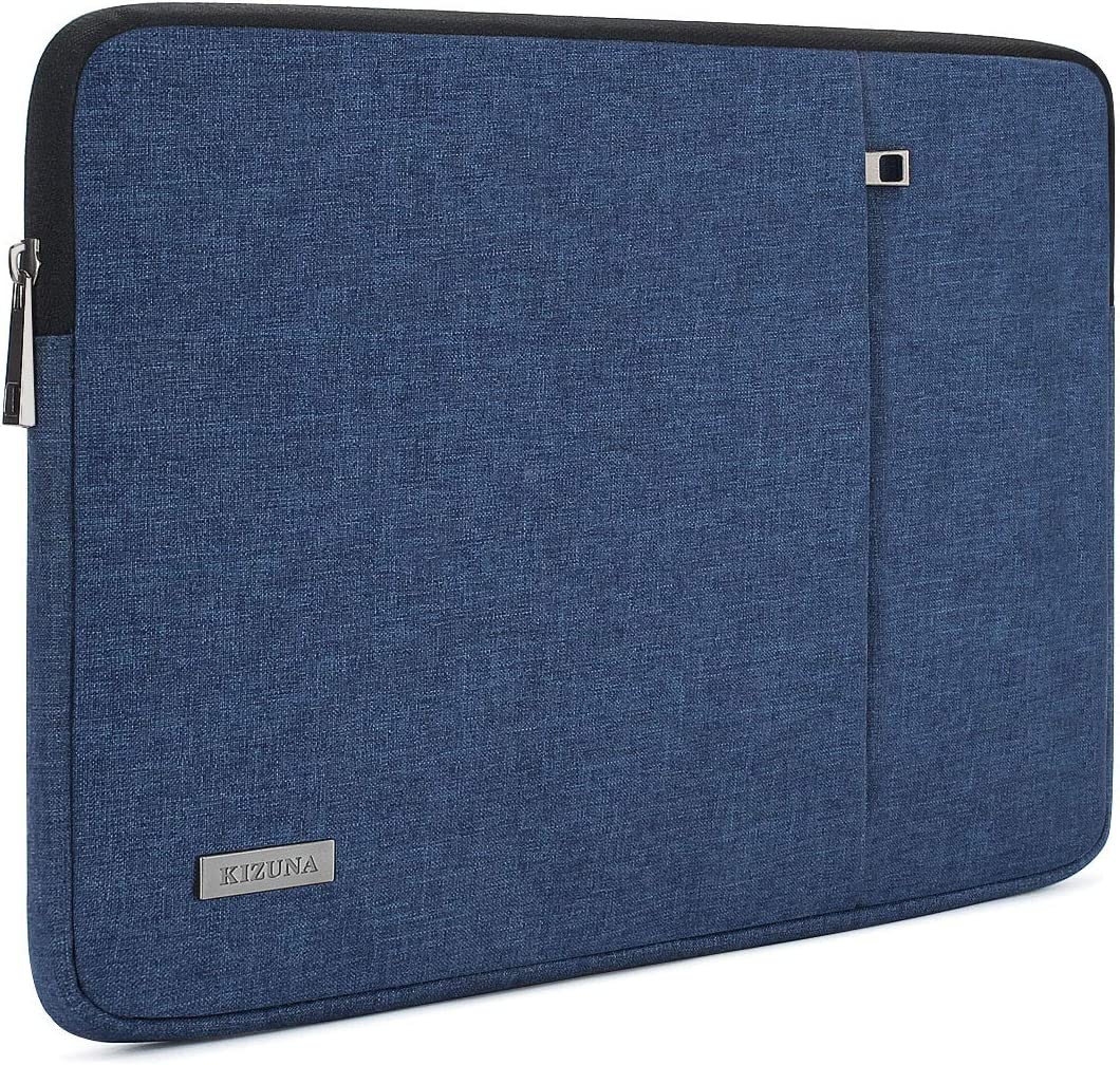 "KIZUNA Laptop Sleeve 13 Inch Water-Resistant Computer Case Carrying Bag for 13"" MacBook Air 2017/14"" Lenovo Yoga S740 C740/ThinkPad X1 Carbon/IdeaPad C340/Huawei MateBook D 14/Dell 14 7400/ASUS,Blue"
