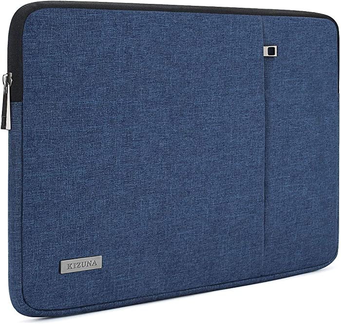 """KIZUNA Laptop Sleeve 13 Inch Water-Resistant Computer Case Carrying Bag for 13"""" MacBook Air 2017/14"""" Lenovo Yoga S740 C740/ThinkPad X1 Carbon/IdeaPad C340/Huawei MateBook D 14/Dell 14 7400/ASUS,Blue"""
