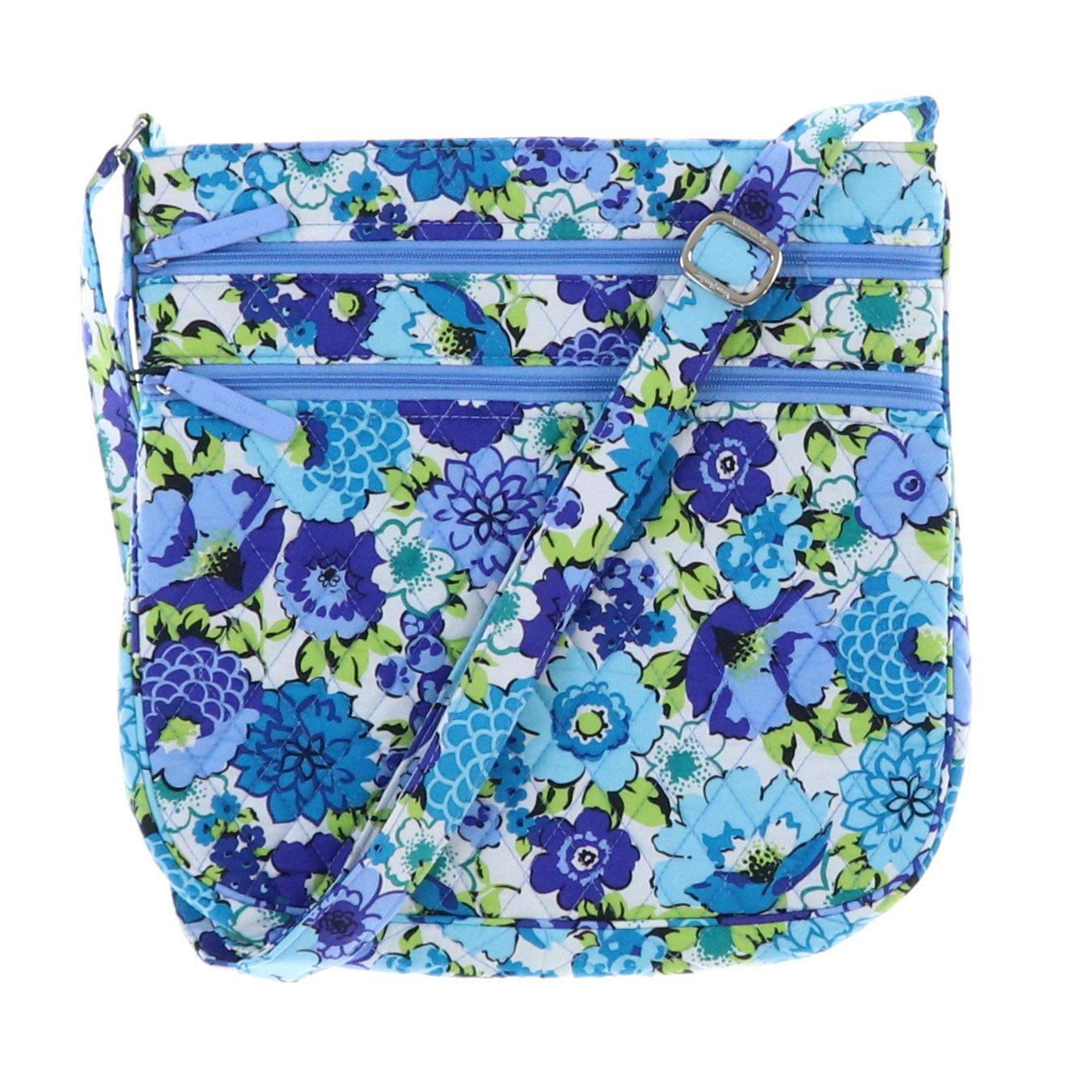 【超特価SALE開催!】 Vera Bradley Interior レディース B0795YY29D Blueberry Blue Blooms With Vera Blue Interior Blueberry Blooms With Blue Interior, ソニー特約店 サウンドイレブン:960a1cfe --- egreensolutions.ca