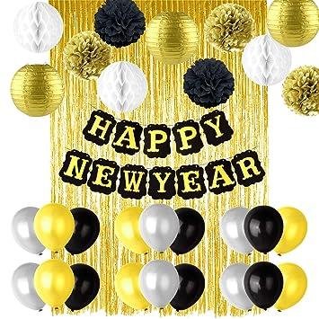 Tuparka Feliz Año Nuevo Decoraciones Linternas De Papel