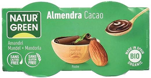 NATURGREEN ALMENDRA CHOCOLATE 2 x 125 gr: Amazon.es: Alimentación y bebidas