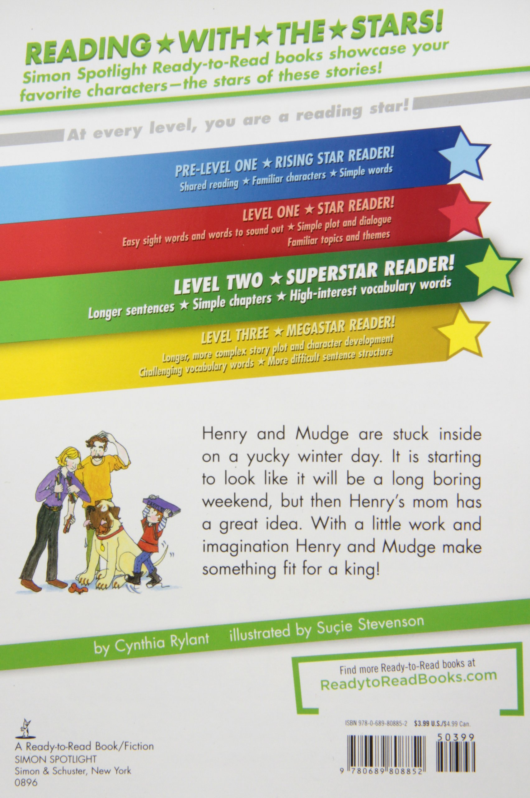 Henry And Mudge And The Long Weekend: Ready-To-Read Level 2 (Paper)
