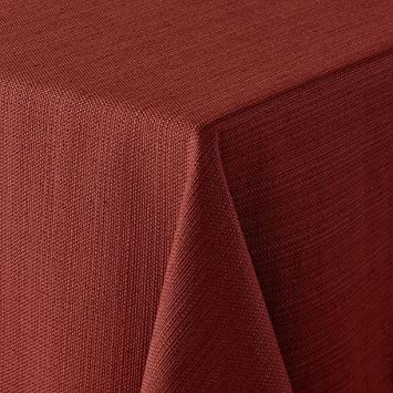 Bobby Flay Gramercy Tablecloth   70u0027u0027 Round Red Table Cloth