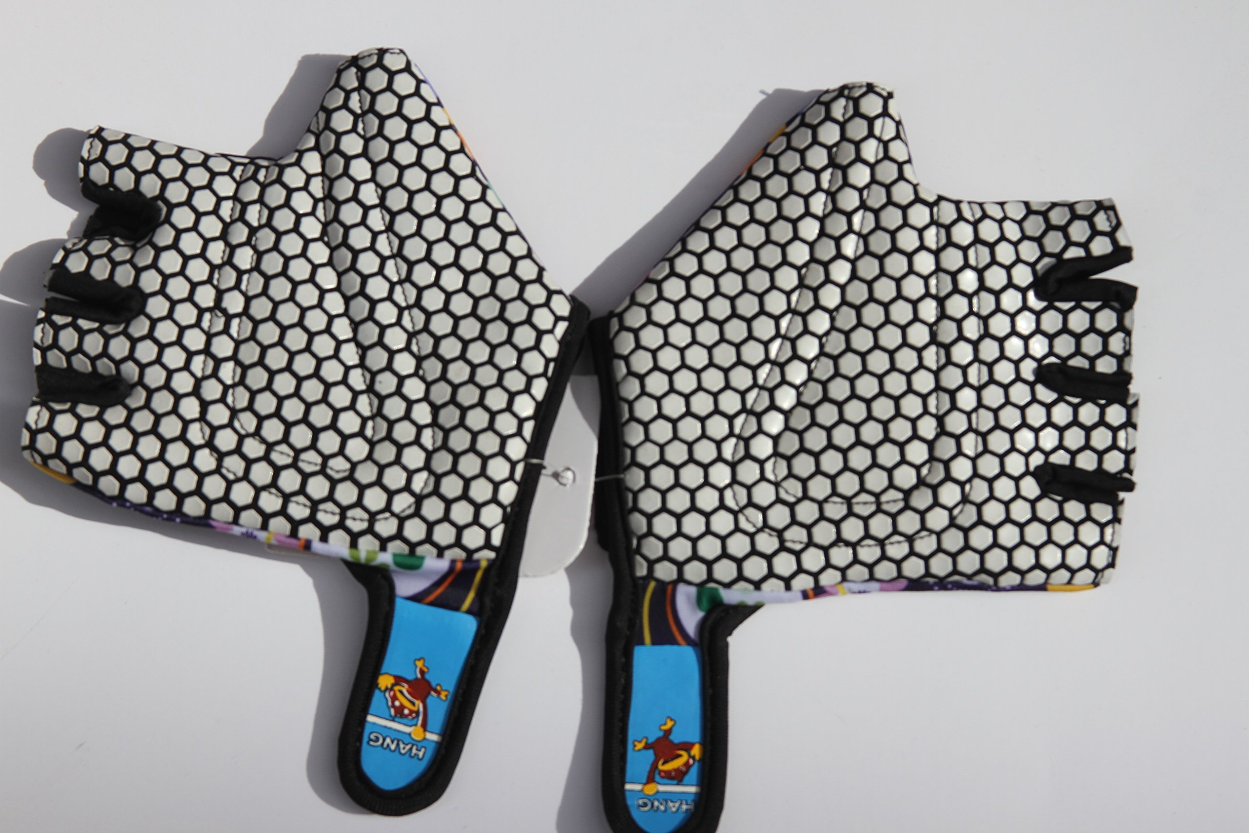 HANG Monkey Bars Gloves With Grip Control (Flowers) For children 5 and 6 years old by HANG (Image #3)