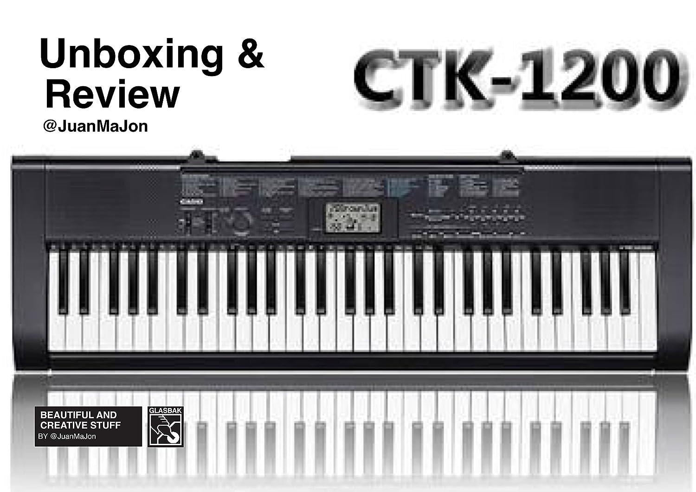 Teclado Casio CTK-1200 con 61tasti Polifonia a 12 sonidos 100toni 100ritmi: Amazon.es: Instrumentos musicales