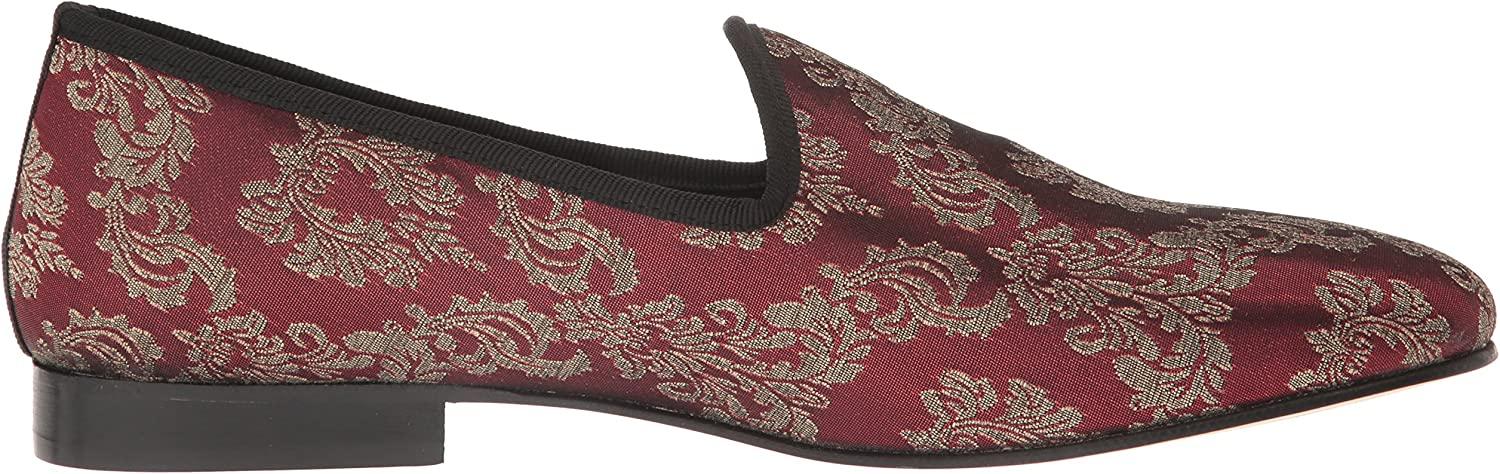 STACY ADAMS Mens Venice Smoking Slip-On Printed Loafer