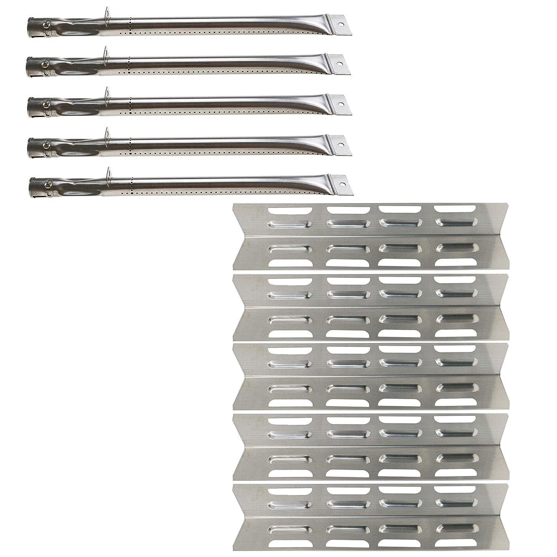 bar. b.q.s (5-Pack) placa de calor de acero inoxidable ...