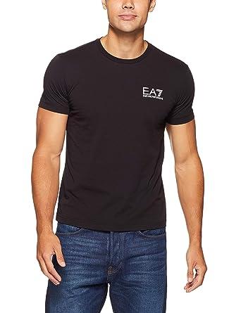3b6f8889 Emporio Armani Mens Ea7 Train Core Id T-Shirt in Black: Emporio Armani EA7:  Amazon.co.uk: Clothing