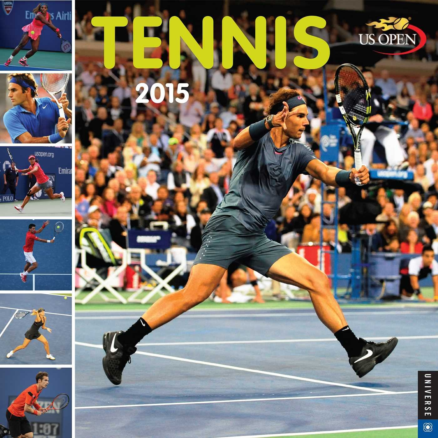Tennis 2015 Wall Calendar: The Official US Open Calendar Calendar – Wall Calendar, July 29, 2014