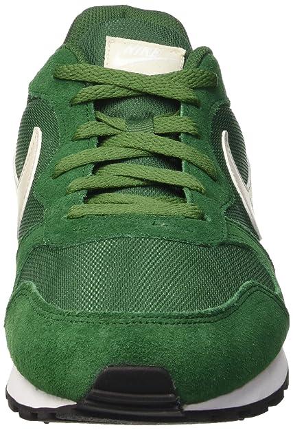check out d60db 0b679 Nike MD Runner 2, Baskets Basses Homme, Vert - Grün (Gorge Green Light Bone- White), 45.5 EU  Amazon.fr  Chaussures et Sacs