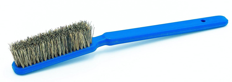 'flathold Premium spazzola Medium (Bouldern & arrampicata–per sala e Outdoor, per la pulizia di arrampicata manici, può permettersi e Finger fori–20cm/7,9pollici–In Setole Naturali e 100% plastikfreie Confezione, 10gradi di inclinazione ideale