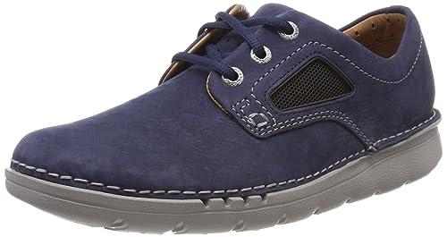 60fd6531 Clarks Unnature Plain, Zapatos de Cordones Derby para Hombre: Amazon.es:  Zapatos y complementos