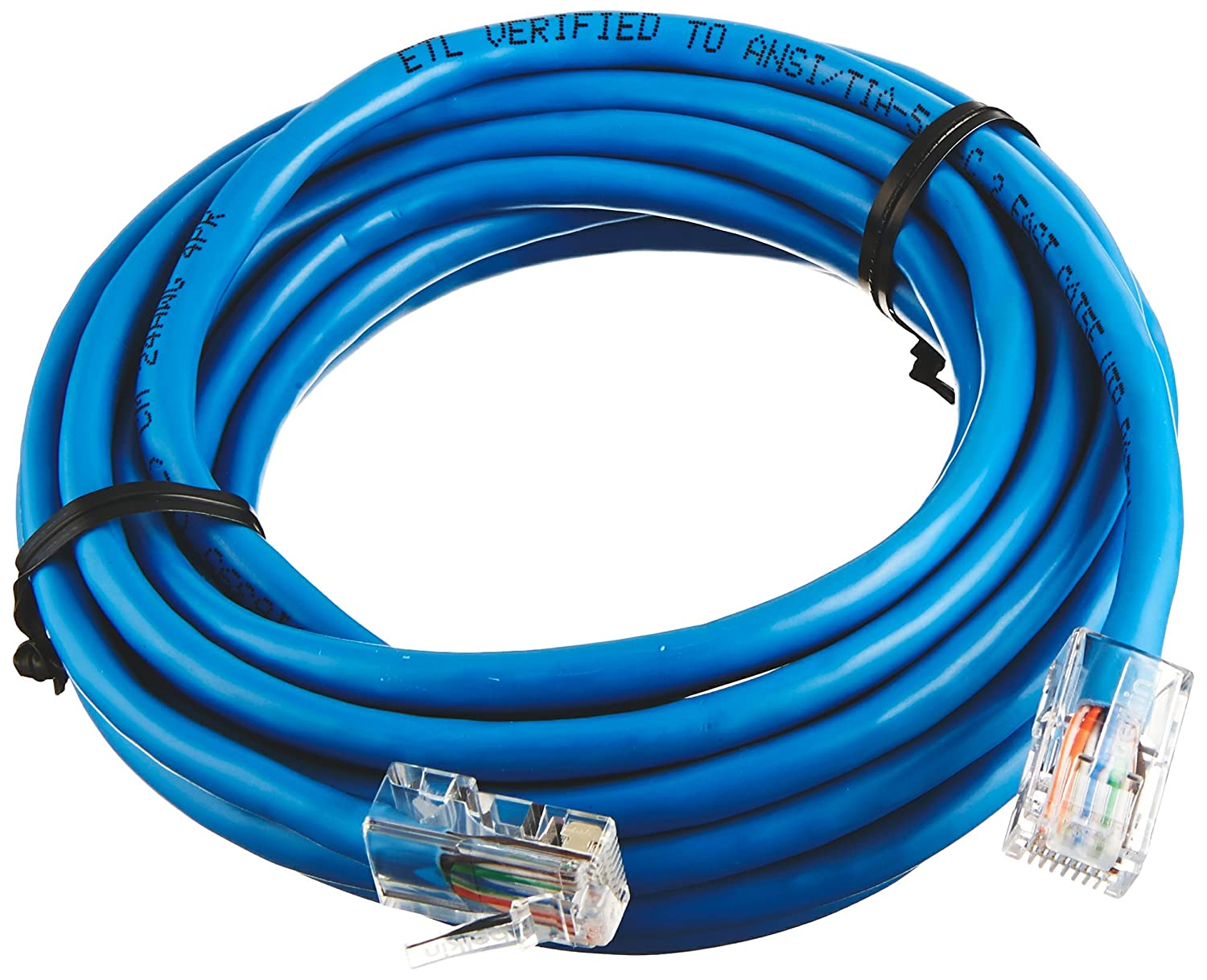 Belkin A3l791 12 Blu Foot Rj45 Cat5e Patch Cable How To Make A Category 5 Cat 5e Blue Electronics