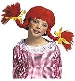 Widman - Disfraz de pippy calzaslargas infantil, talla única