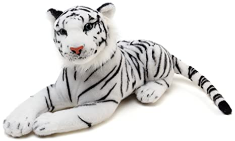 Amazon Com Viahart Saphed The White Tiger 17 Inch Long Not