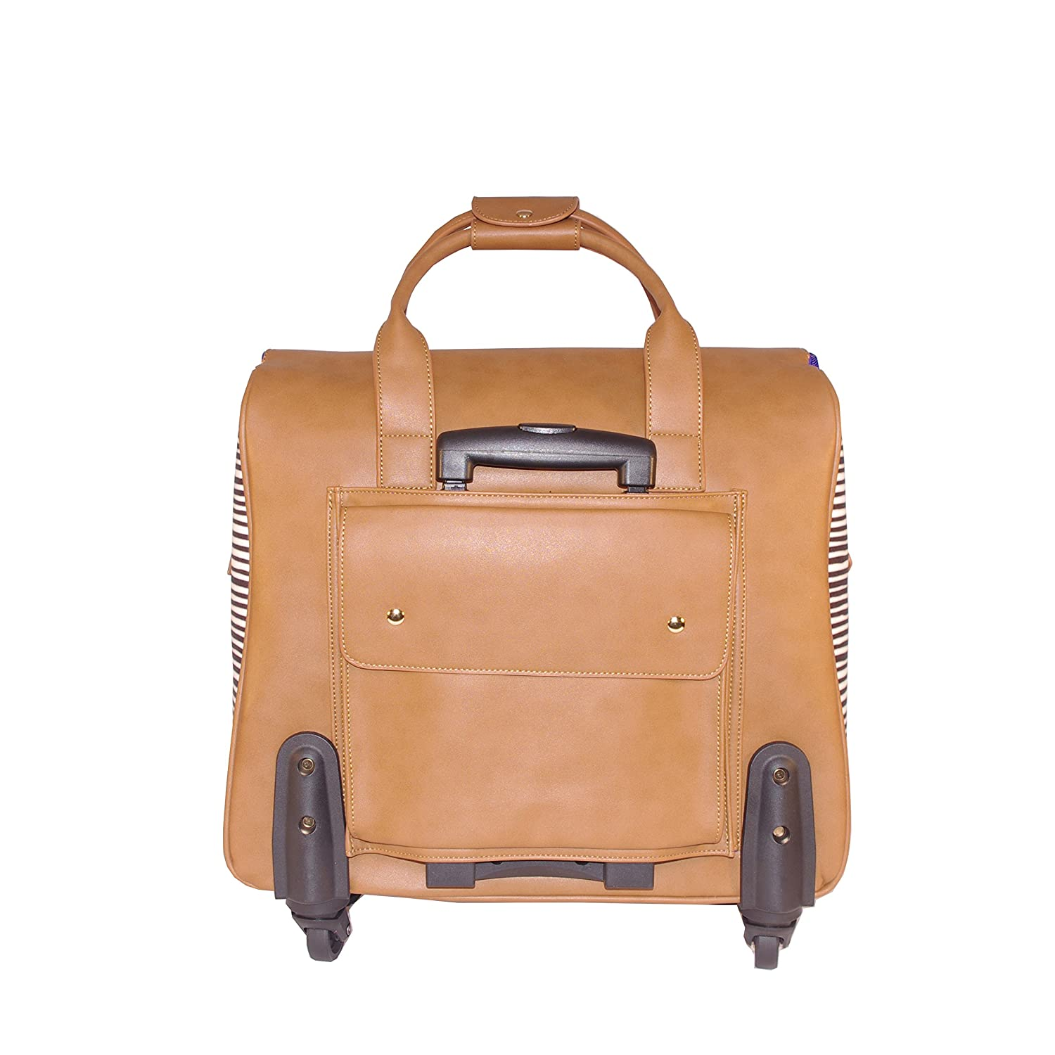 Hang Accessories Waxed Canvas Rolling Travel and Work Tote