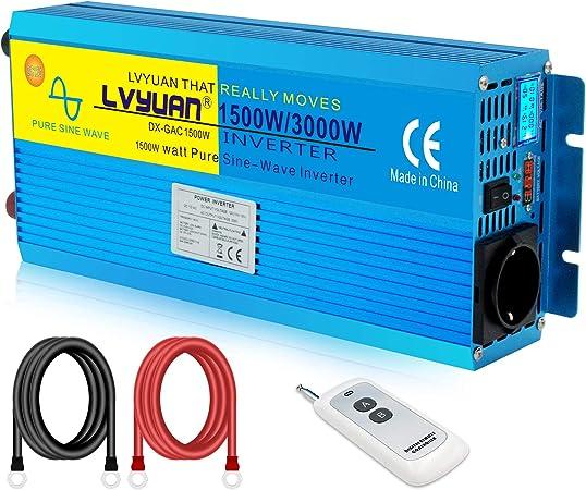Cantonape Spannungswandler 12v 230v Wechselrichter Elektronik