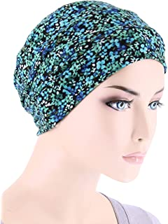 633e7bcd198 Chemo Cap Womens Soft Printed Beanie Sleep Turban Hat Headwear for Cancer  Patients