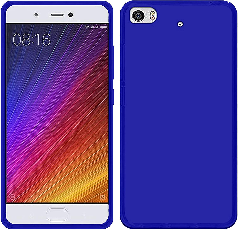 TBOC® Funda de Gel TPU Azul para Xiaomi Mi 5s: Amazon.es: Electrónica