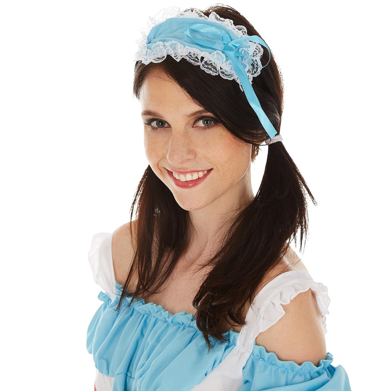 dressforfun Disfraz de Alicia para Mujer | Vestido Corto | Incl. Medias Hasta las Rodillas y Precioso Sombrero (XXL | No. 301049): Amazon.es: Juguetes y ...