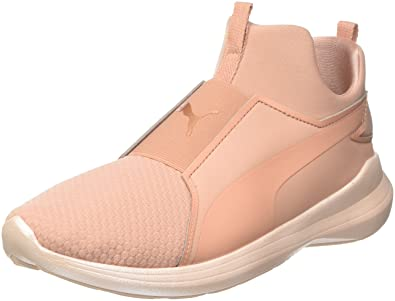 Womens Rebel Mid WNS Ep Low-Top Sneakers, Pink Puma