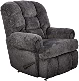 """Lane Stallion Big Man(Extra Large) Comfort King Wallsaver Recliner in Blue Depths(Grey Blue). Made for The Big Guy Or Gal. Rated for Up to 500 Lbs. Extended Length. 79"""". Seat Width. 25"""". 4501L"""