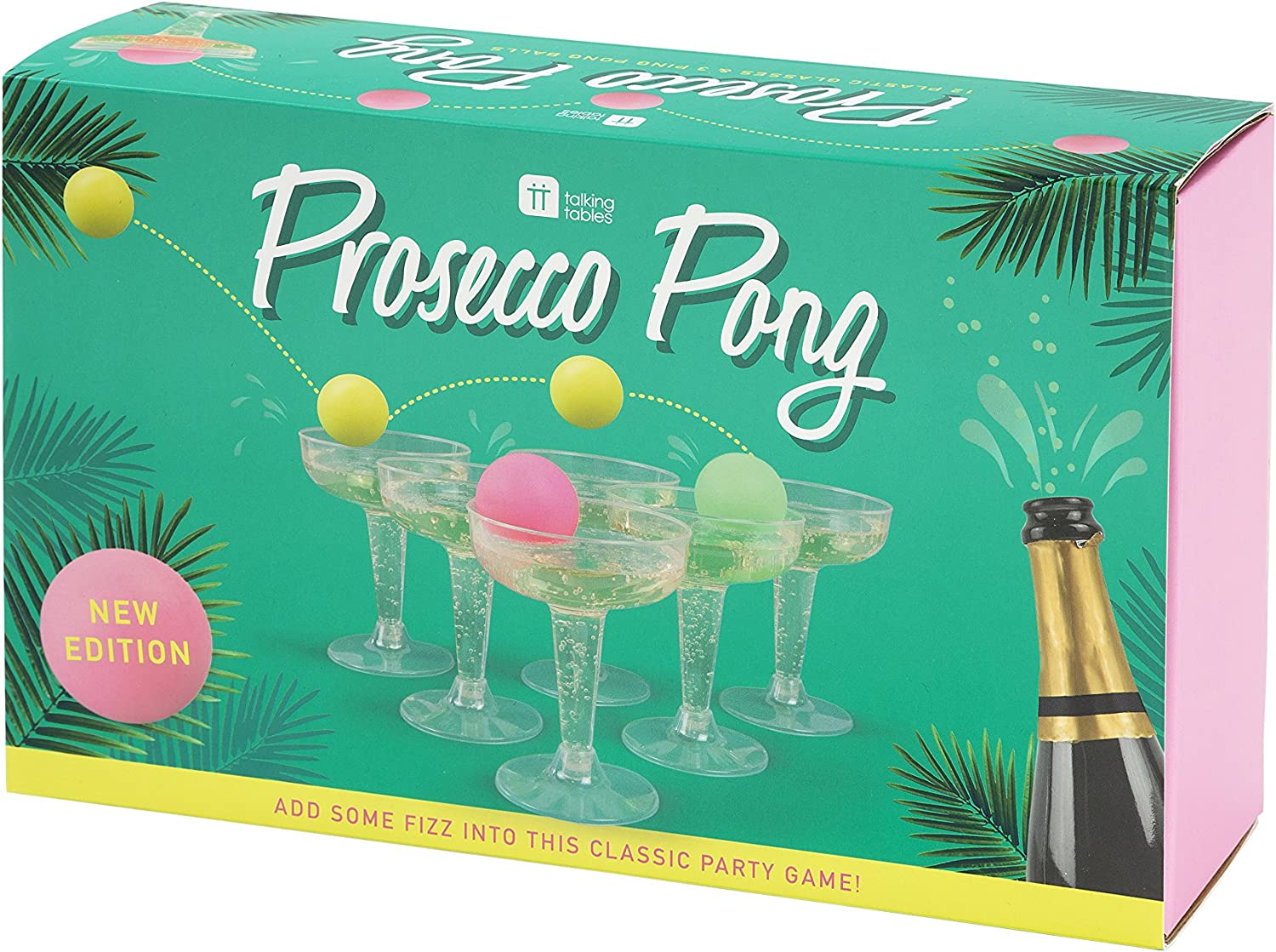 The Original Pong Prosecco Beer Drinking Game