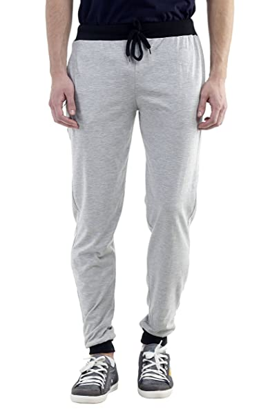 Gag Wears Men's Light Grey Track Pants