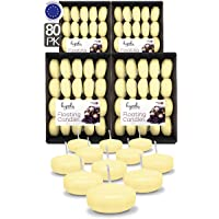 Hyoola Premium Ivory Floating Candles 2 Inch