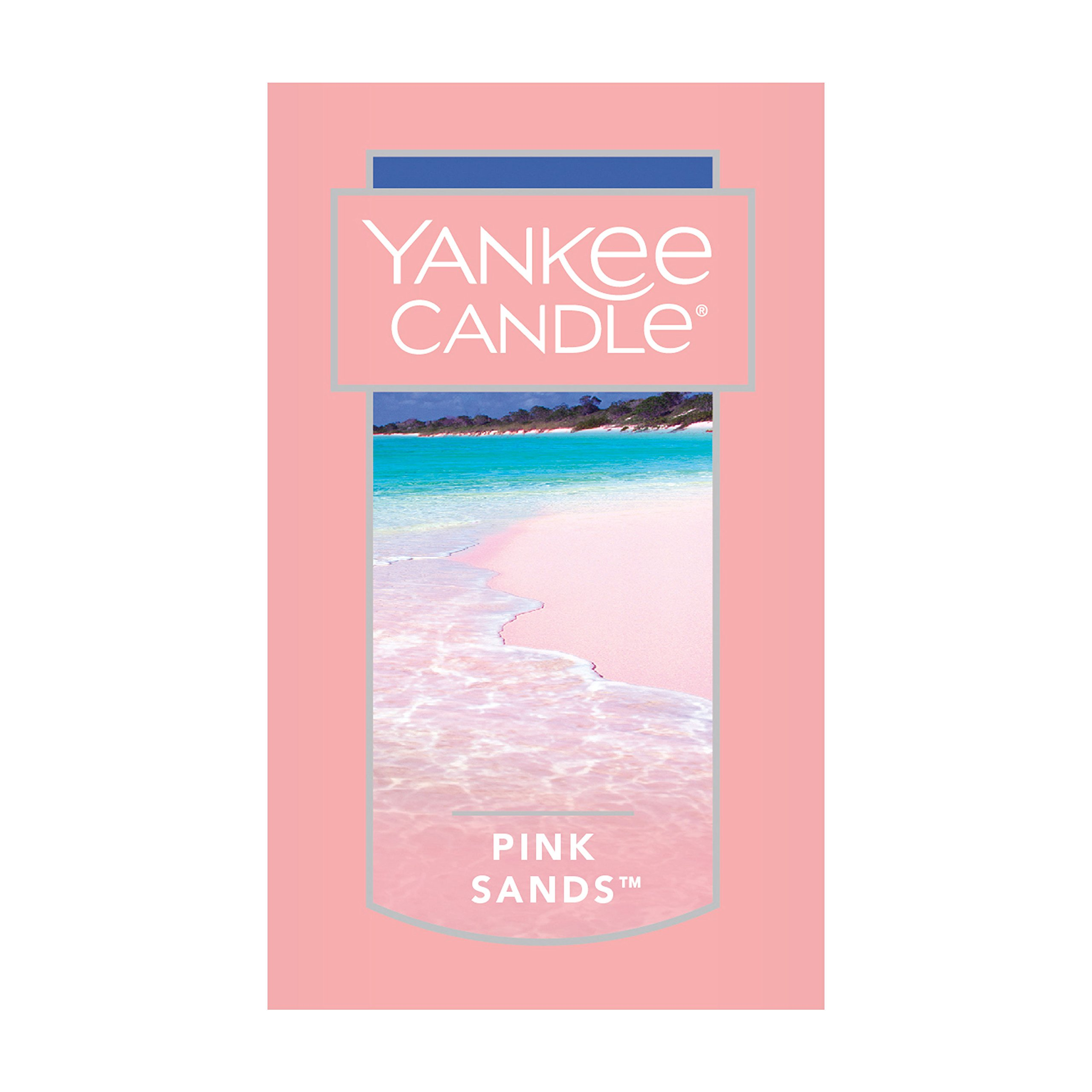 Yankee Candle Charming Scents Car Air Freshener Refill, Pink Sands