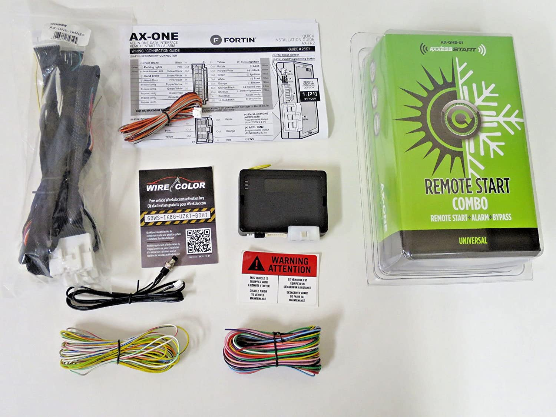 Amazon.com: Plug & Play Mazda CX-5 2013-2018 Alarm Remote Start + T Harness  + Flashlink: Car Electronics