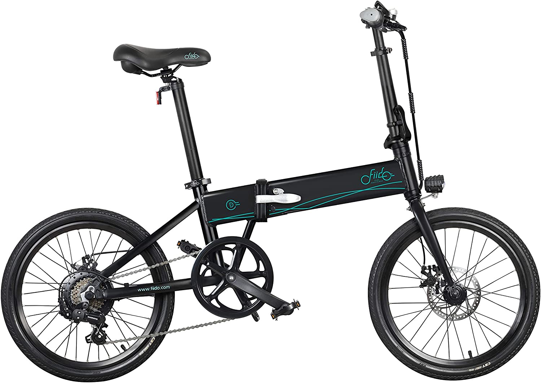 FIIDO D4S - Bicicleta eléctrica plegable (20 pulgadas, 80 km ...