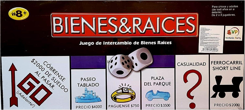 MI RINCON Juego De Intercambio De Bienes & Raices Finanza hasta 8 Jugadores: Amazon.es: Juguetes y juegos