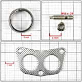Aluminum Gasket+Donut+Studs+Bolts for 4-2-1