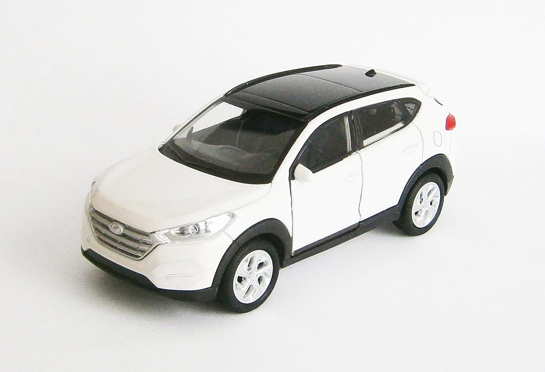 Orange HYUNDAI TUCSON Modellauto Metall Modell Auto Spielzeugauto Welly 3-Farben 33