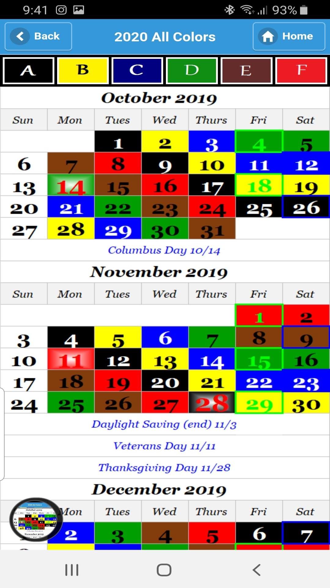 Nalc Calendar 2022.Calendar 2021 Nalc Color Calendar 2021