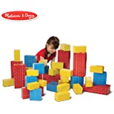 Melissa & Doug Deluxe Jumbo Cardboard Blocks, 40 Pieces (E-Commerce Packaging, Great Gift for Girls and Boys - Best for 2, 3,