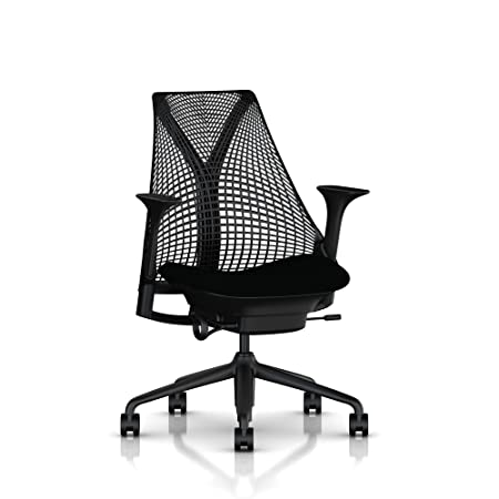 Herman Miller Sayl Chair In Black