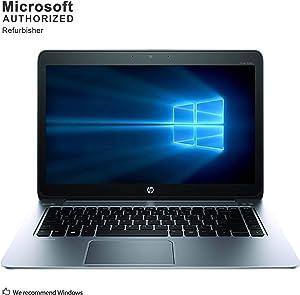 HP EliteBook Folio 1040 G1 14 Inch Business Laptop, Intel Core i5 4300U up to 2.9GHz, 4G DDR3L, 256G SSD, WiFi, DP, Windows 10 64 Bit Multi-Language Supports English/French/Spanish(Renewed)