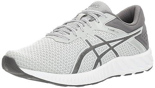 Buy ASICS Men's Fuzex Lyte 2 Running Shoe, Mid GreyCarbon