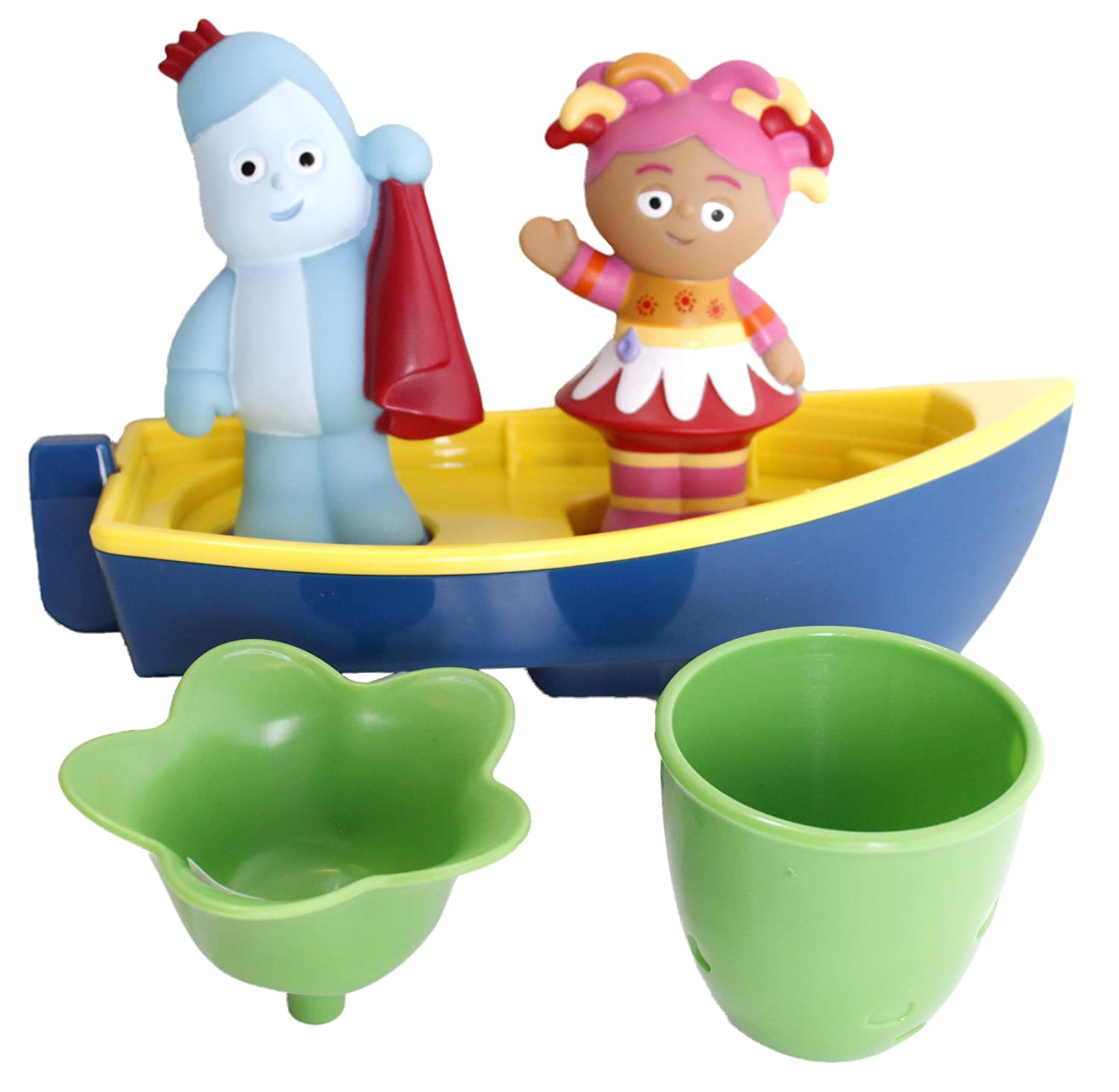 In The Night Garden Iggle Piggle's Floaty Boat Playset Golden Bear Toys 1336