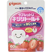 Pigeon Dental Care Tablet Strawberry, 60 count