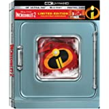 Incredibles 2 4K/UHD : SteelBook [Limited Edition] 4K UHD + Blu-ray + Digital Code